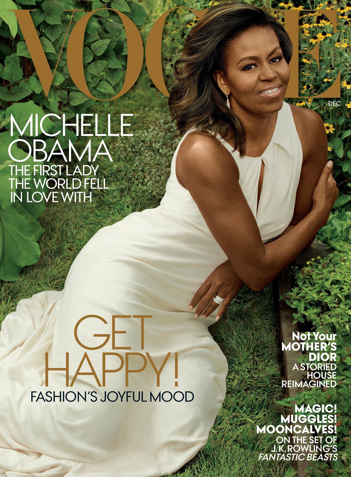 Michelle Obama graces US Vogue