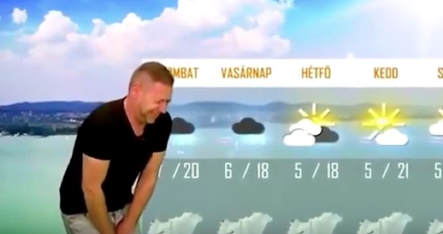 Weatherman sacked for fart noises during report on wind