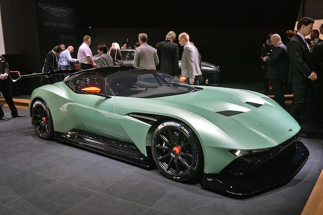 【ジュネーブ2015】限定生産のアストンマーティン「ヴァルカン」は800馬力超!