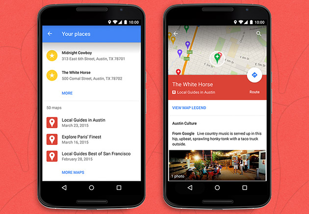 Android 用戶又可以在 Google Maps 中使用客製地圖了