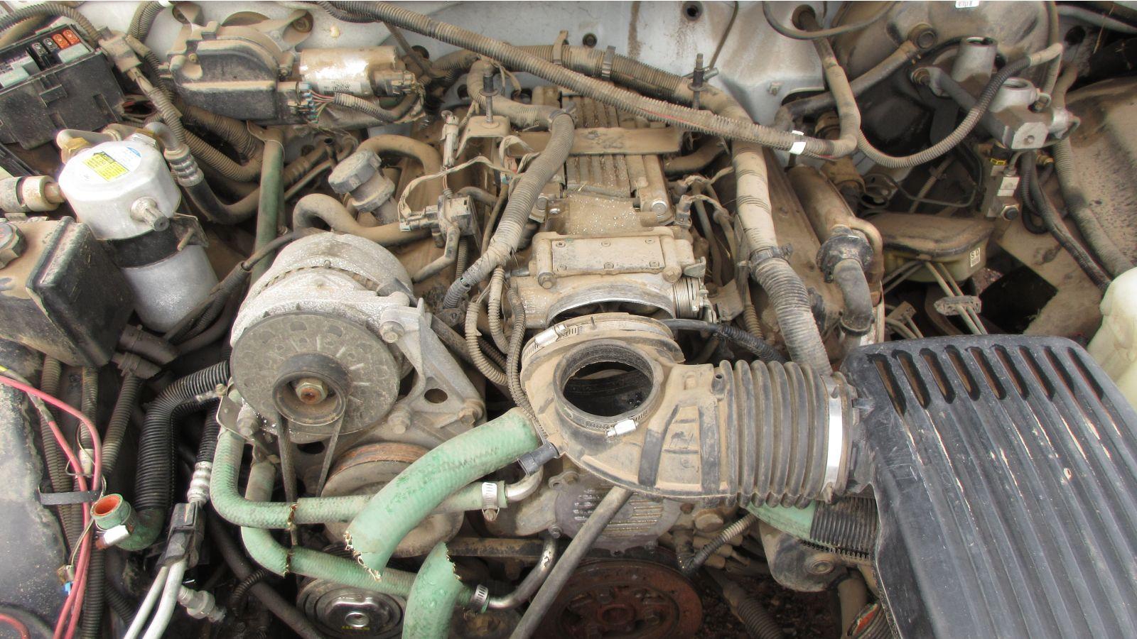 Chevrolet Caprice Classic 9C1 Police Car Junkyard Gem | Autoblog