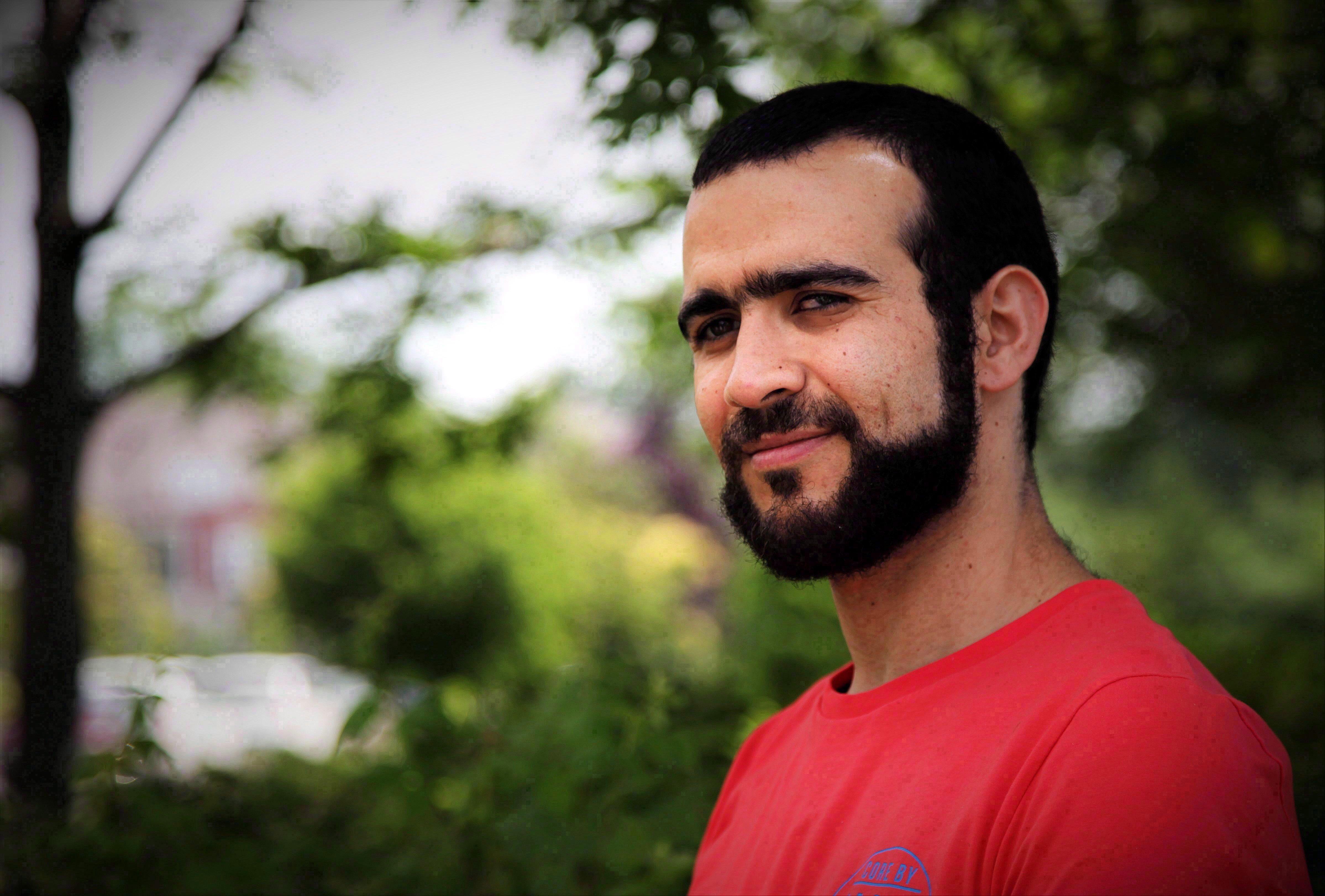 Former Guantanamo Bay prisoner Omar Khadr, 30, is seen in Mississauga, Ont., on Thursday, July 6,