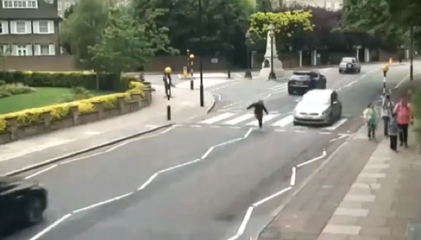 Woman hit by car on iconic Abbey Road crossing