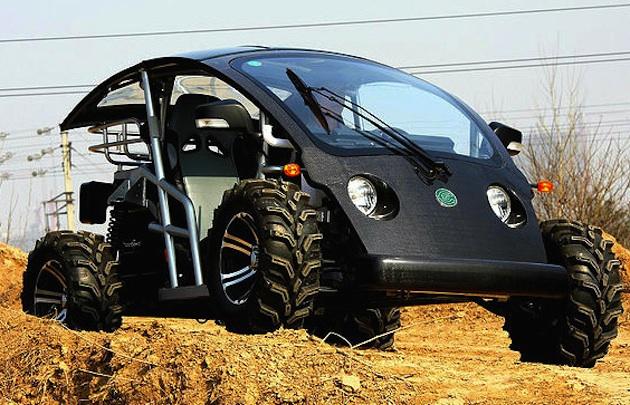 オフロードも走れる、米エコクルーズ社の新型NEV「クルーザースポーツ」!