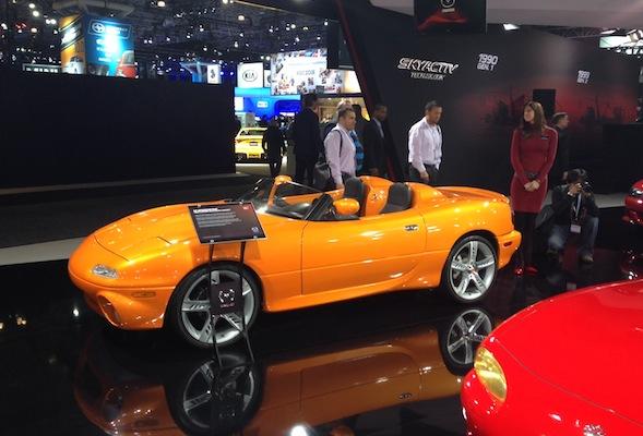 MX-5 Speedster concept