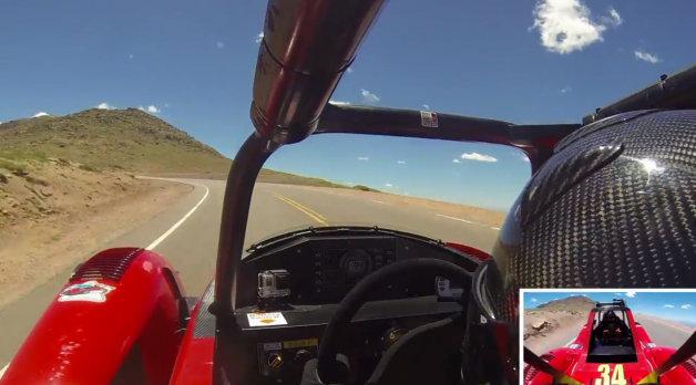 【ビデオ】パイクスピークのEV改造クラスで新記録を樹立した三菱車のオンボード映像