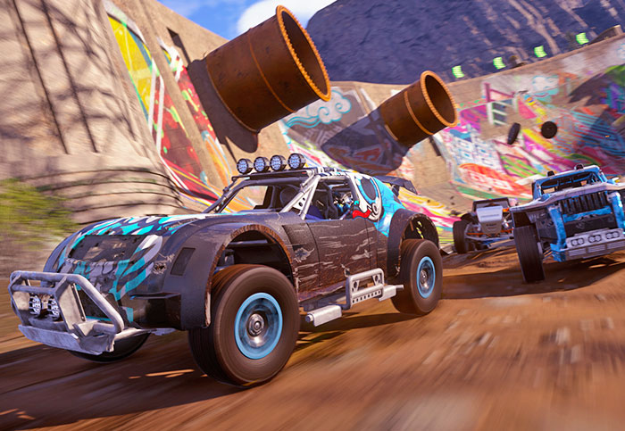 'Onrush' is a racing game with no finish lines