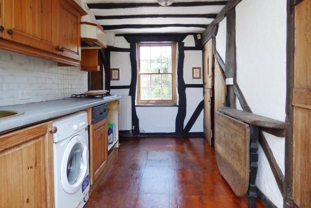 The kitchen of the Littlehampton house