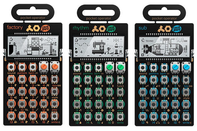 Teenage Engineering Pocket Operator family