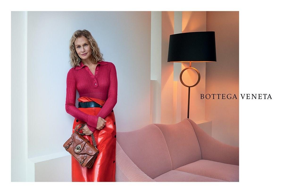 Lauren Hutton Bottega Veneta campaign