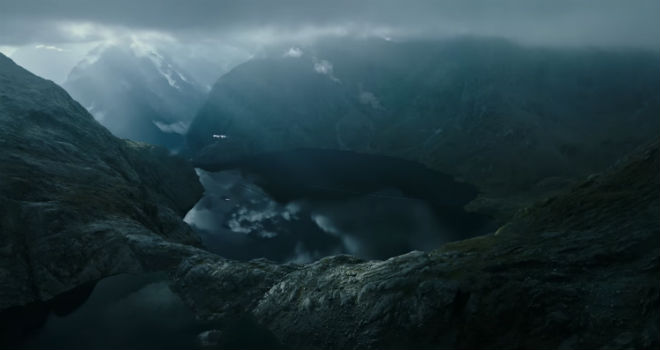 the planet in ALIEN COVENANT