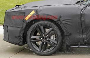 Ford Mustang spy shots