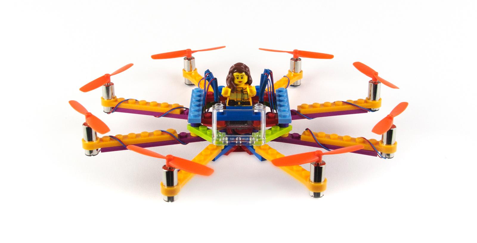 用這些 Flybtix 套件來組裝你自己的 Lego 無人機吧
