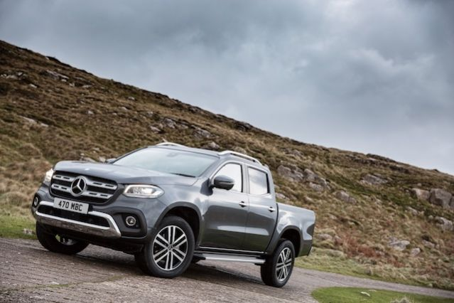 first drive mercedes x class aol. Black Bedroom Furniture Sets. Home Design Ideas