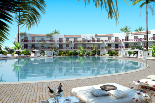 There S A New All Inclusive Resort In Cape Verde And Melia Dunas Beach Is Bringing Luxury Style Family Fun To Sal Aloeiro