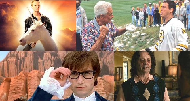 Celebrity cameos in films