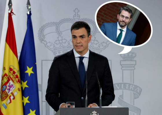 Los seis días locos de Màxim Huerta como ministro de Cultura en ocho