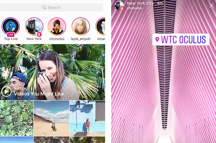 Instagram is grouping Stories to make them easier to find