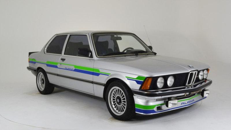 BMWの初代「3シリーズ」をベースにしたアルピナ「C1 2.3」が、eBayで販売中