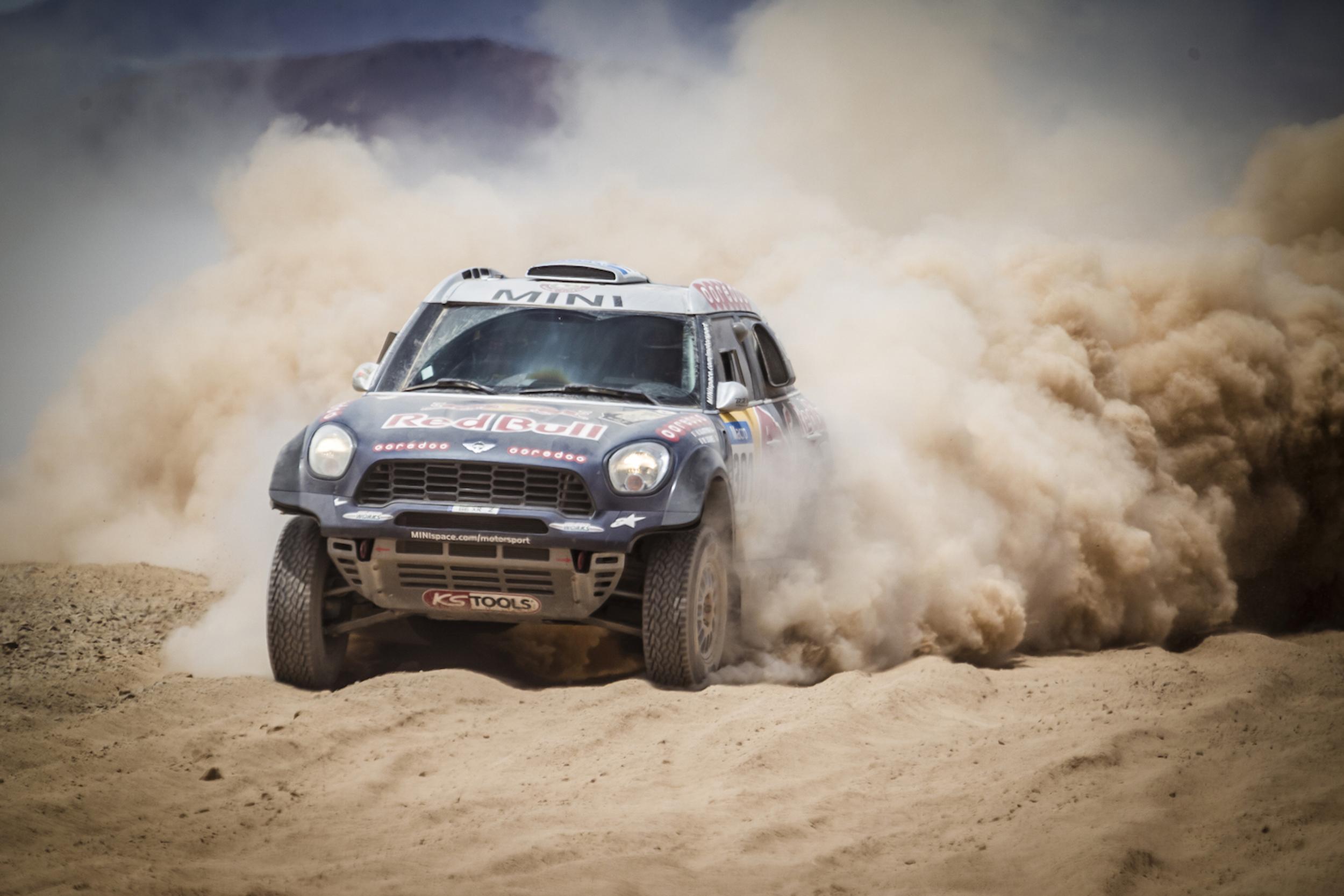 2015年ダカールラリー、MINIが4輪部門で4連覇を達成!