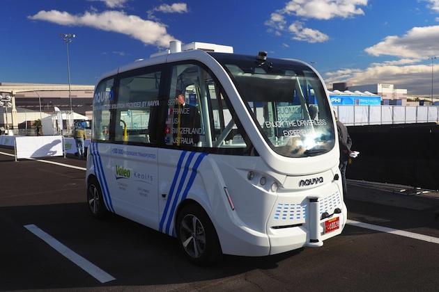 【ビデオ】フランスのNavyaが開発した自動運転シャトルバス「Arma」に試乗!