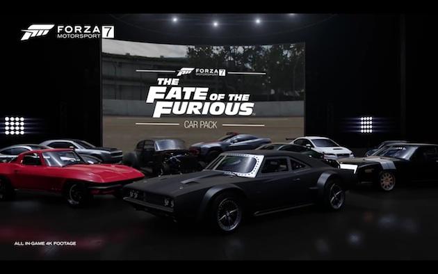 【ビデオ】最新レース・ゲーム『Forza Motorsport 7』で、映画『ワイルド・スピード ICE BREAK』に登場した10台のクルマをドライブ!