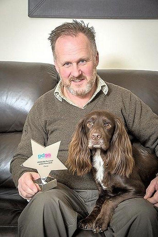 Spaniel given bravery award