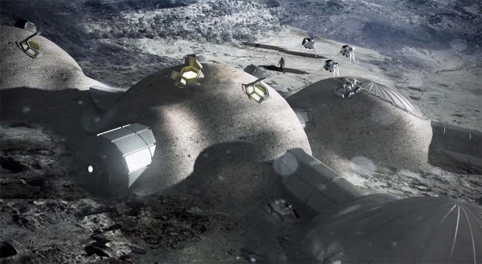 動眼看:這不是冰屋,而是 3D 打印月球屋的概念