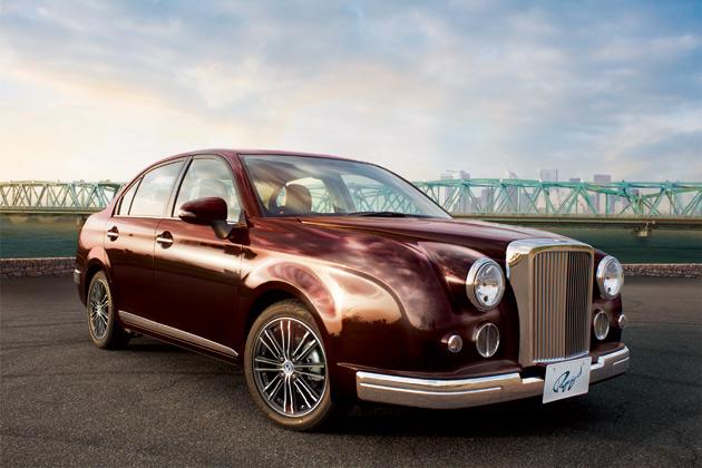 光岡自動車、初のハイブリッド車も設定される新型セダン「Ryugi(リューギ)」を発表!