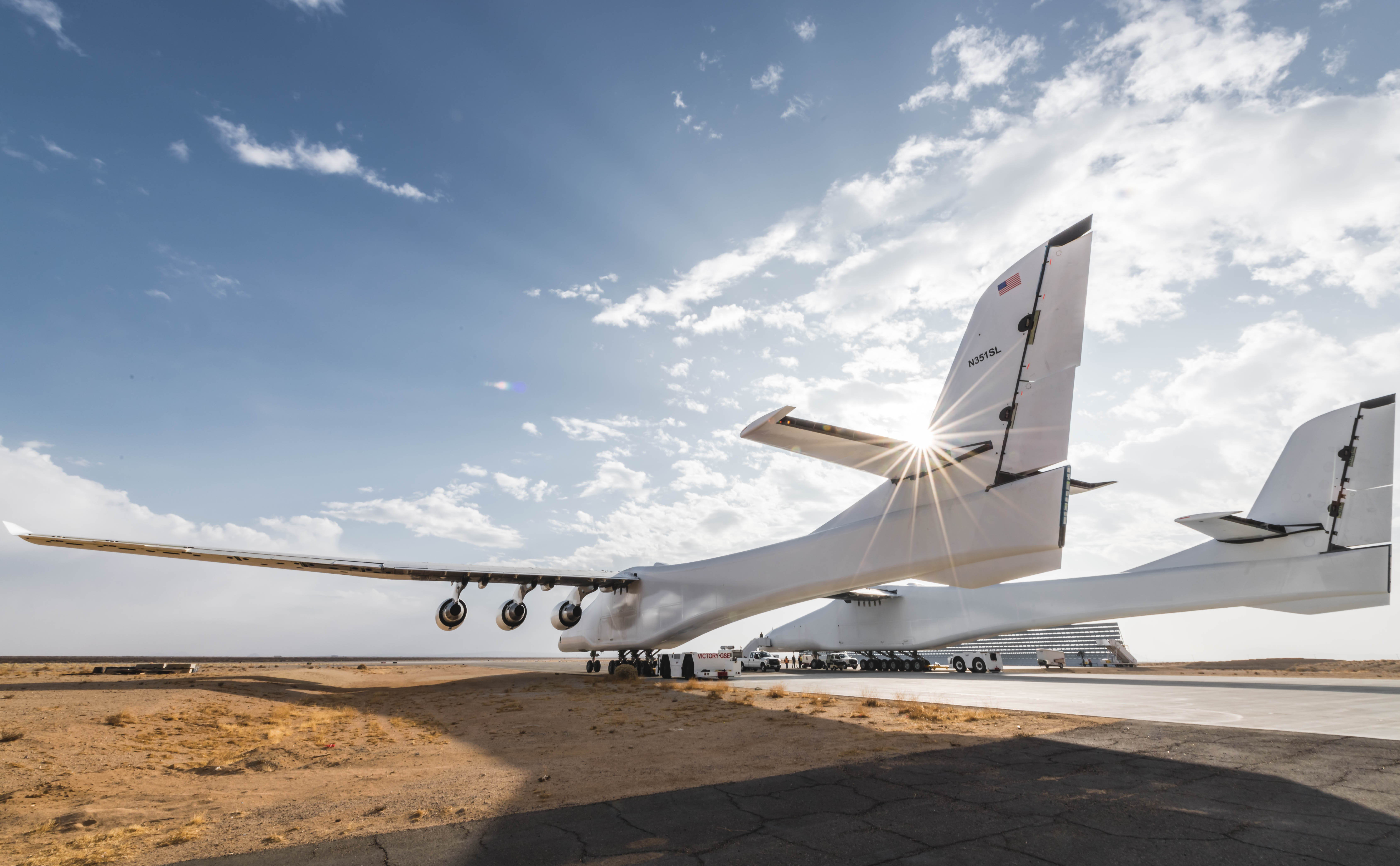The world's largest aircraft may finally take off this summer