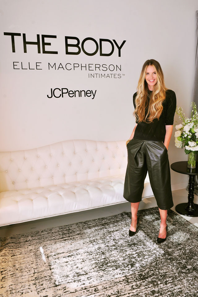 NEW YORK, NY - APRIL 10:  Elle Macpherson attends the JCPenney launch of THE BODY by Elle Macpherson Intimates at the JCPenney Showroom on April 10, 2014 in New York City.  (Photo by Stephen Lovekin/Getty Images for JCPenney)
