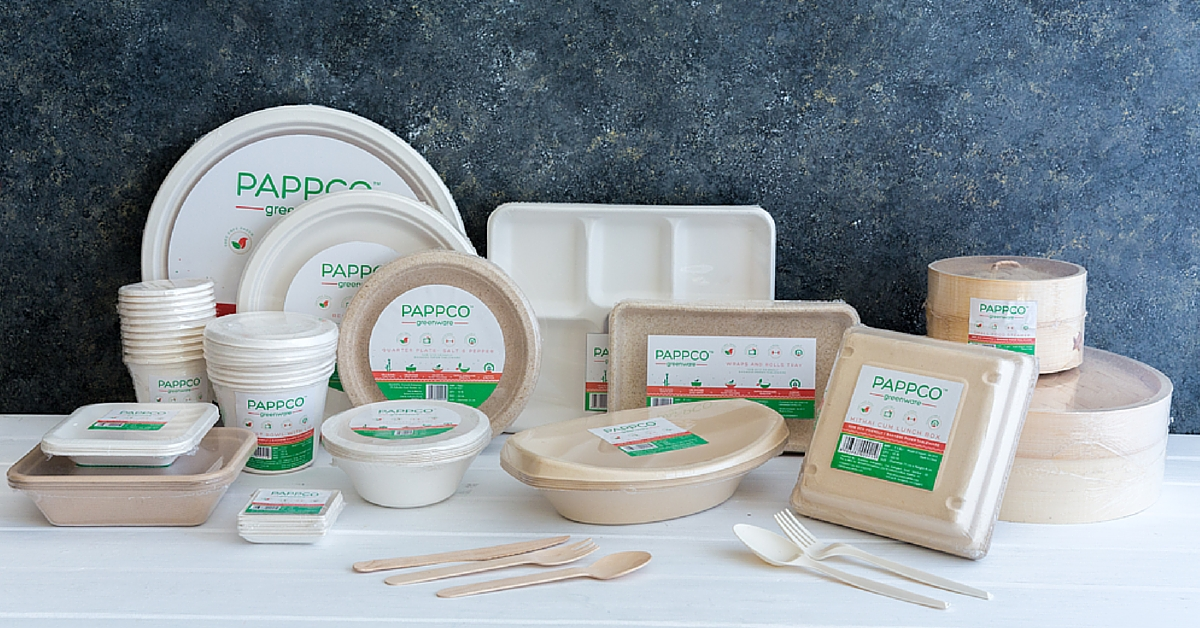 These Eco Friendly Containers Made Of Sugarcane Are