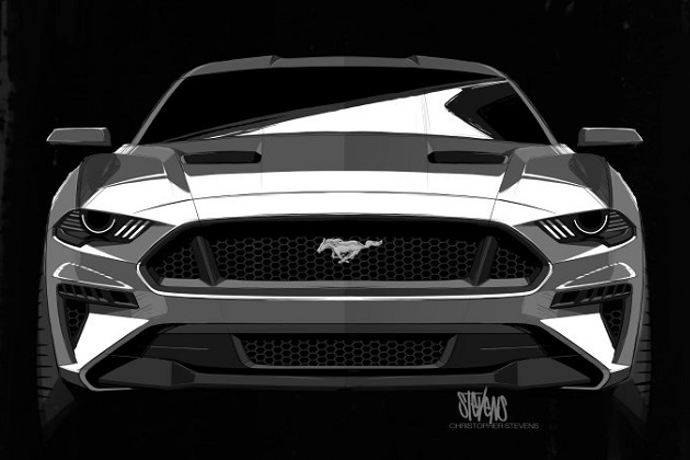 新型フォード「マスタング」のノーズは、映画『スター・ウォーズ』のダース・ベイダーから着想を得ていたことが明らかに!
