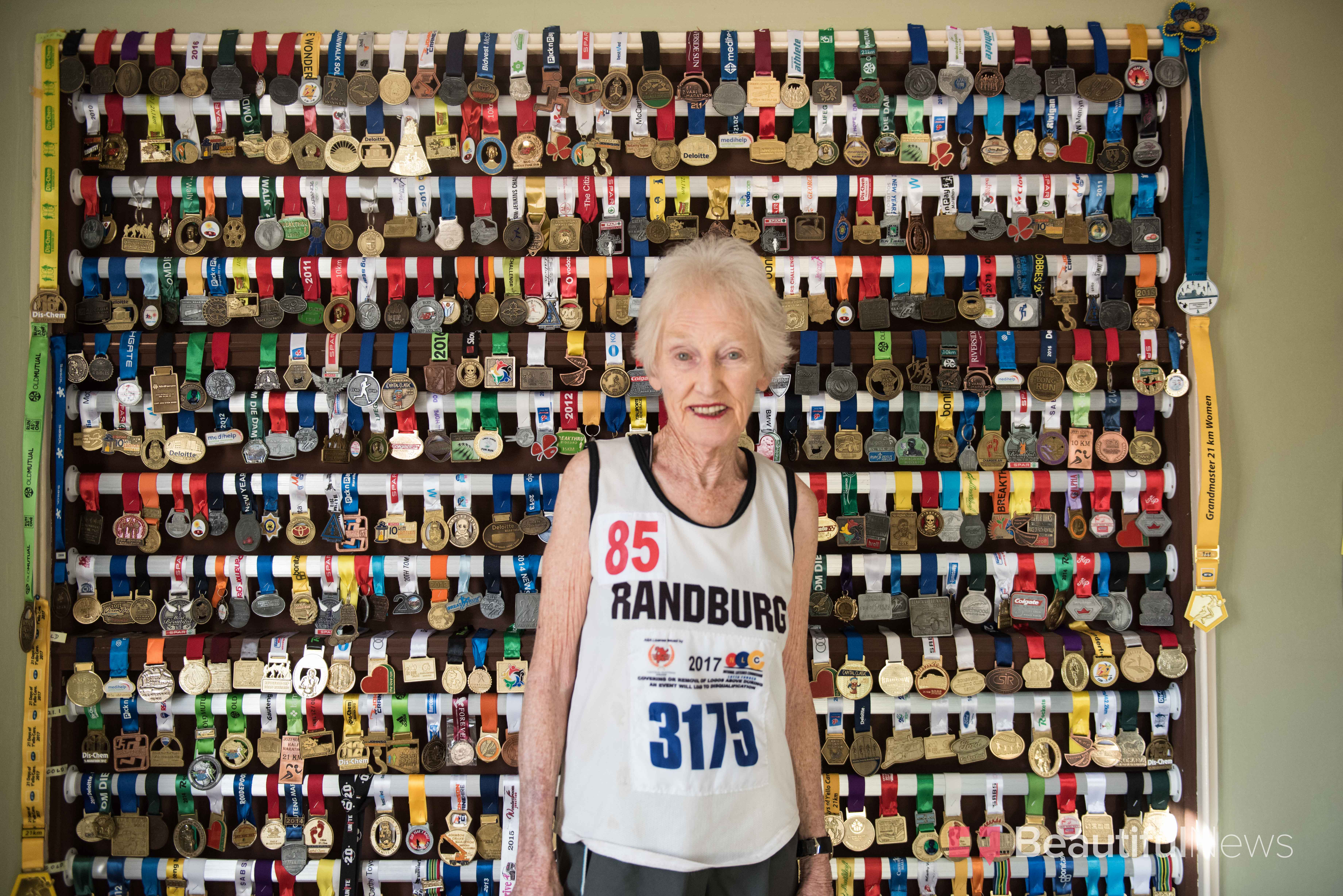 She Started Running At The Age Of 78 -- And 'Never Thought Twice About How Old She