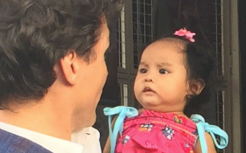 This Baby Is NOT Charmed By Prime Minister Justin