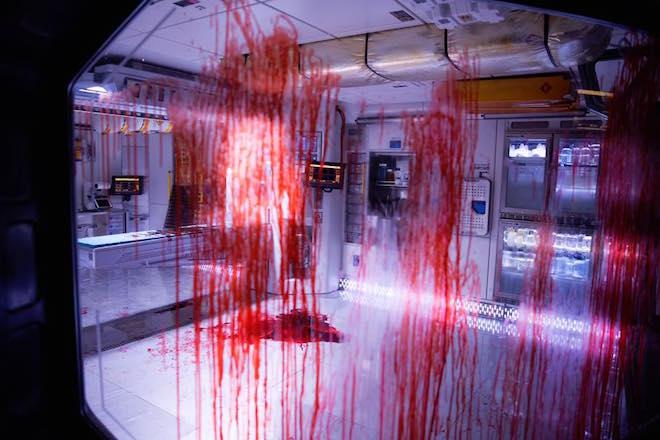bloody medical bay in ALIEN: COVENANT