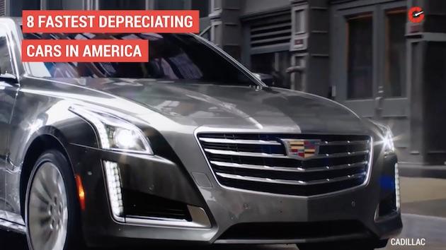 【ビデオ】米国で新車から1年後に大きく値落ちしたクルマ8台 意外なことにトヨタ車もランクイン!?