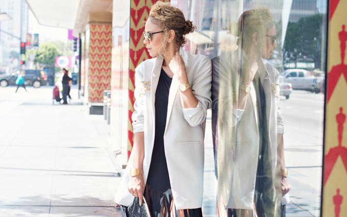 Yesterday's tip: An oversize blazer