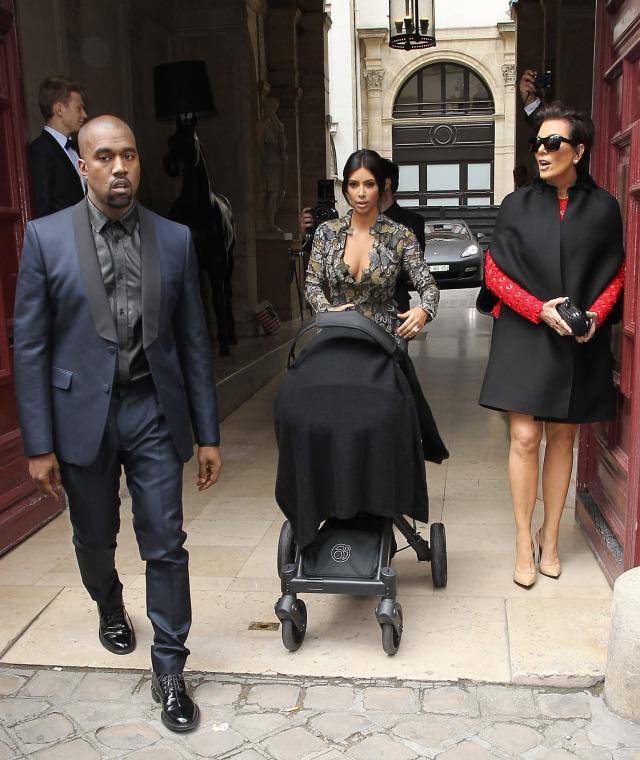 Kim Kardashian and Kanye West wedding brunch