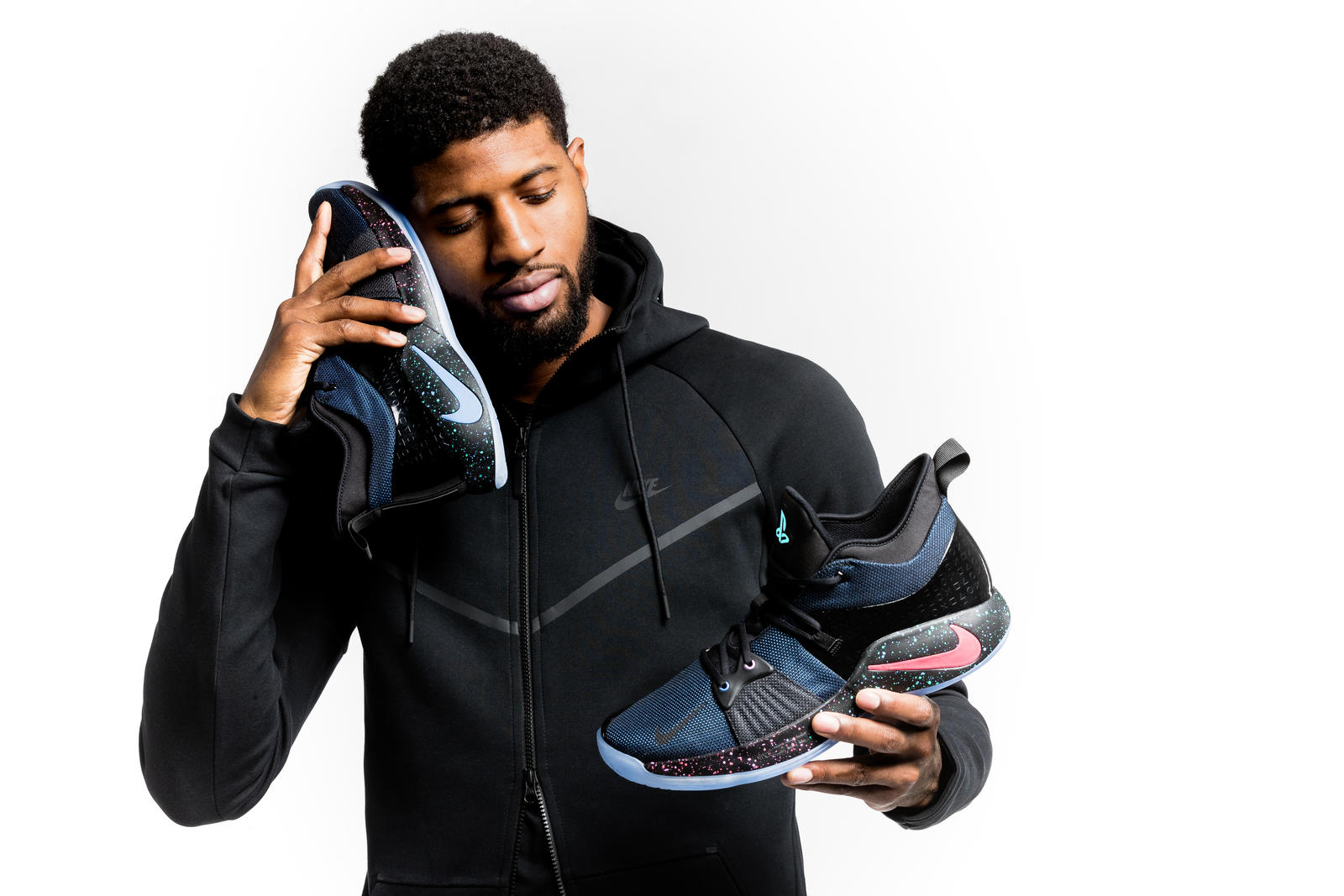 Paul George with the PG2.