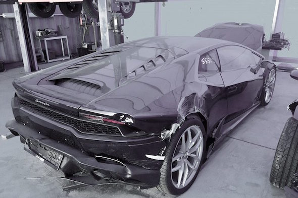 2015 Lamborghini Huracan For Sale With The Reserve Price Of 69p Aol