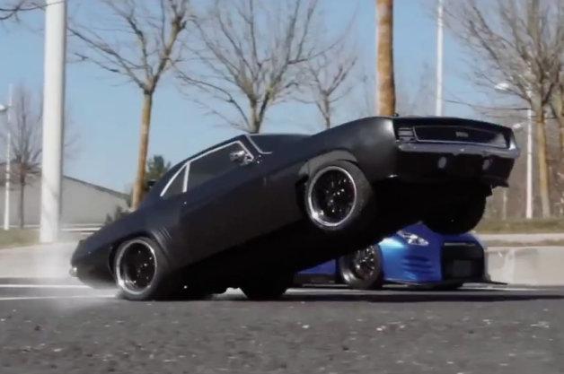 【ビデオ】ラジコンカーを使った映画『ワイルド・スピード』のトリビュート映像