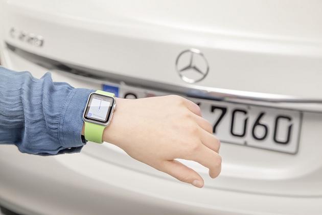 メルセデス・ベンツ、Apple Watch向けのアプリを発表