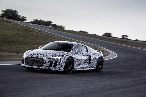 Audi R8 prototype