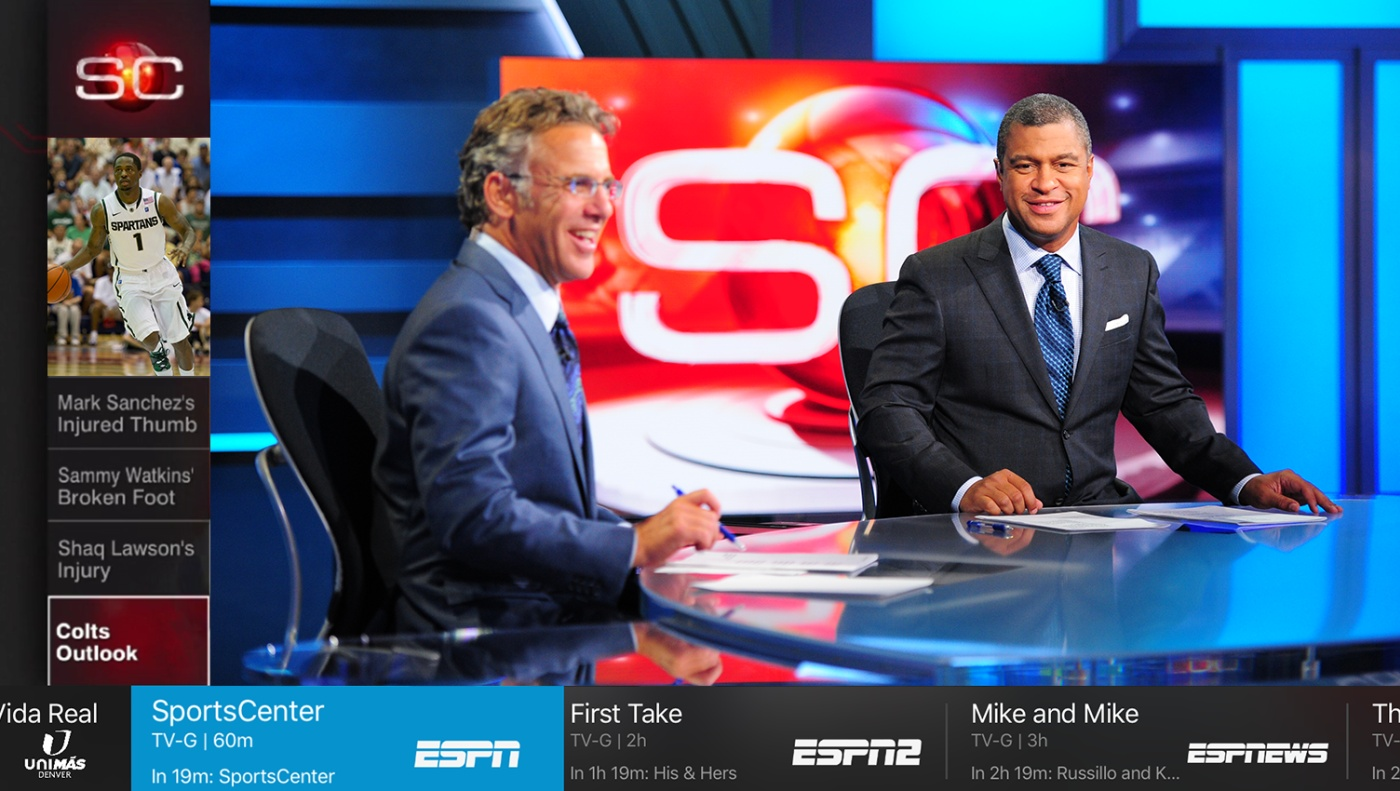 Sling Tv Debuts Its New Look On Apple Tv Engadget
