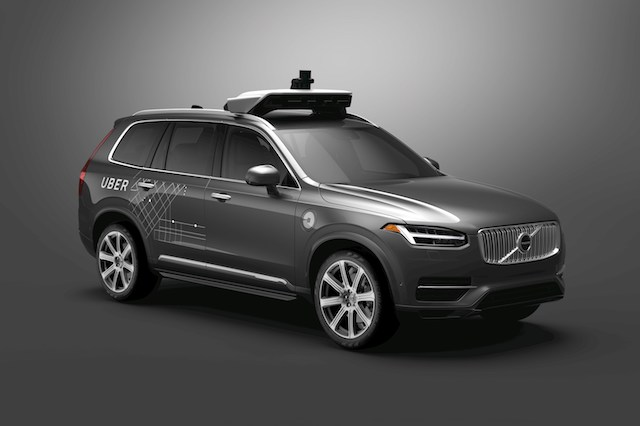 Uber strikes deal to buy 24,000 autonomous Volvos