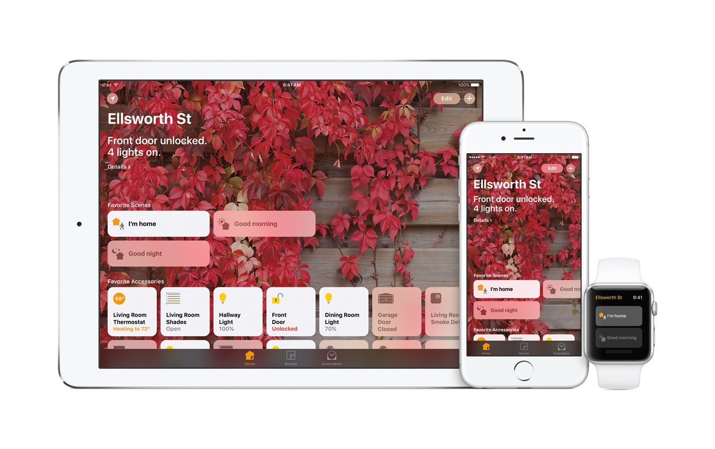 Apple needed to make a standalone homekit app Build your home app