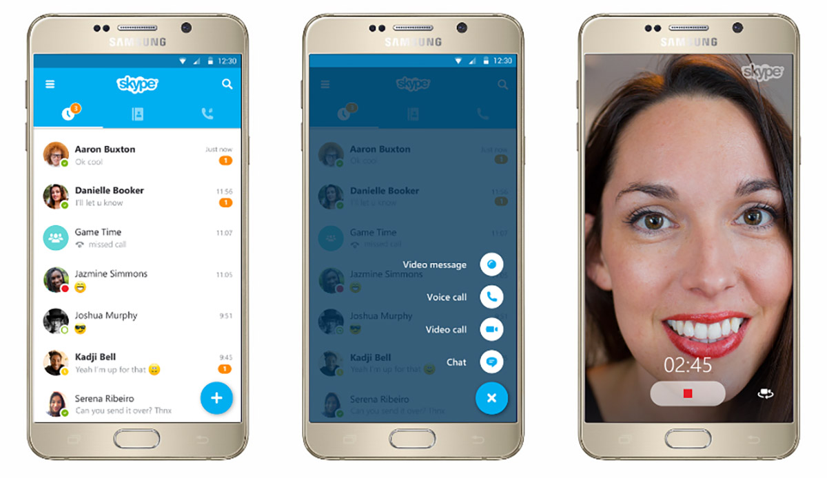 how to make a group voice call on skype ipad