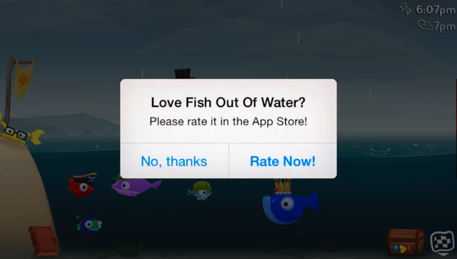 fish out of water ads