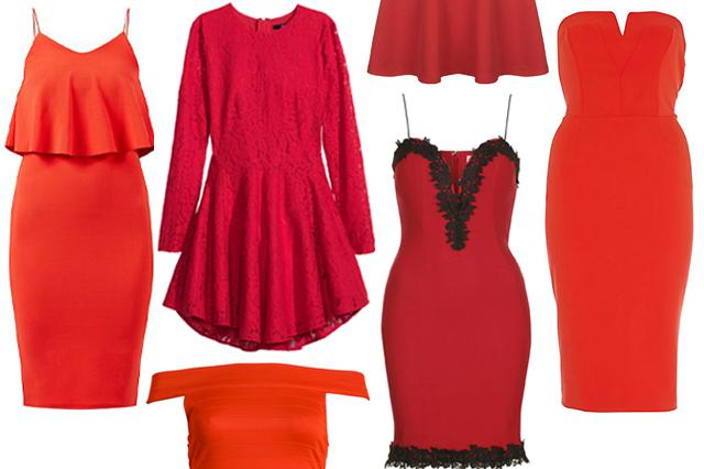 Red Dresses Under 50